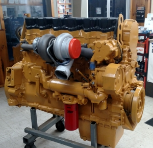 Image of a heavy duty engine